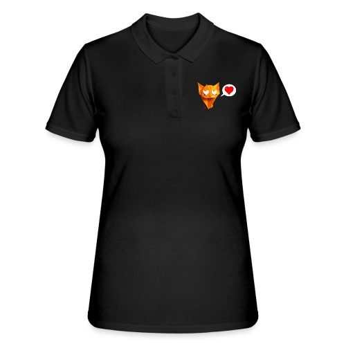 Adorable Cat Origami - Cat - Gato - Gatto - Katze - Women's Polo Shirt