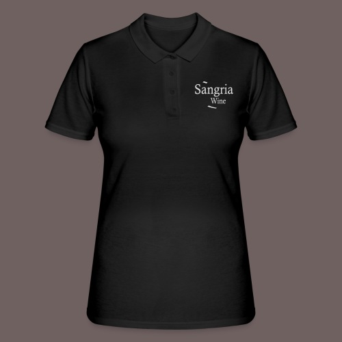 GBIGBO zjebeezjeboo - Fleur- Vin de Sangria [Flex] - Polo Femme