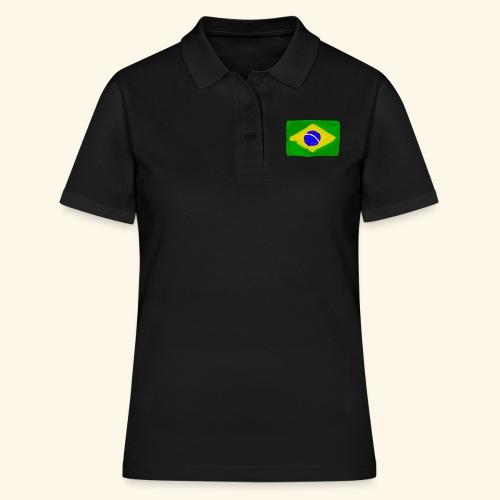 Brazilian flag InWatercolours - Women's Polo Shirt