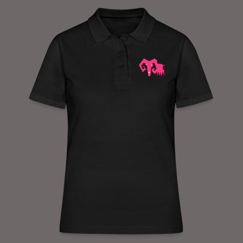 grosse ziege - Frauen Polo Shirt