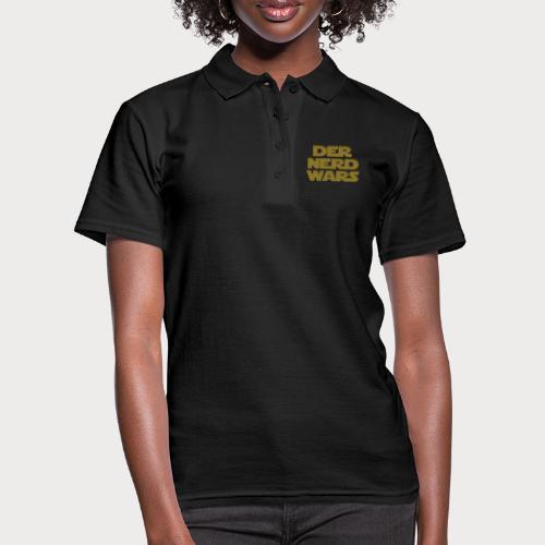 der nerd wars - Frauen Polo Shirt