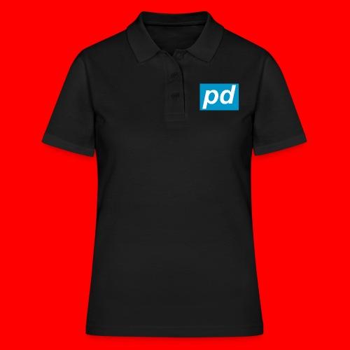 pd Blue - Women's Polo Shirt
