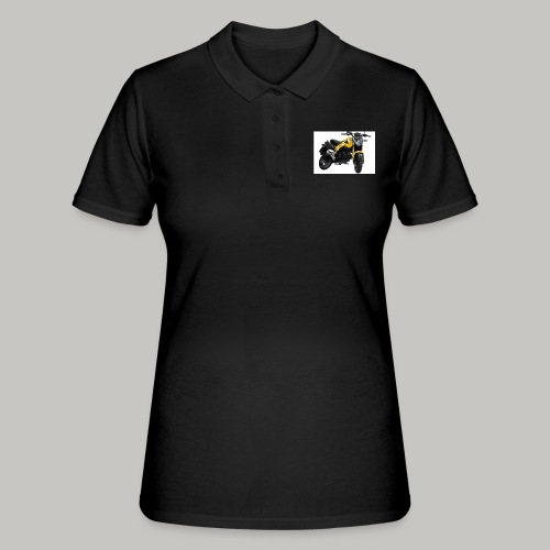 Grom Motorcycle (Monkey Bike) - Women's Polo Shirt