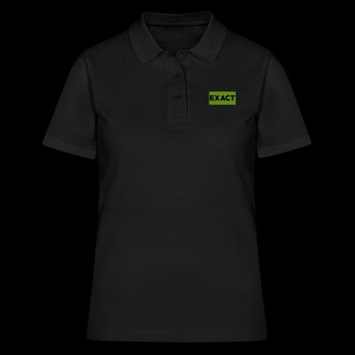 Exact Classic Green Logo - Women's Polo Shirt