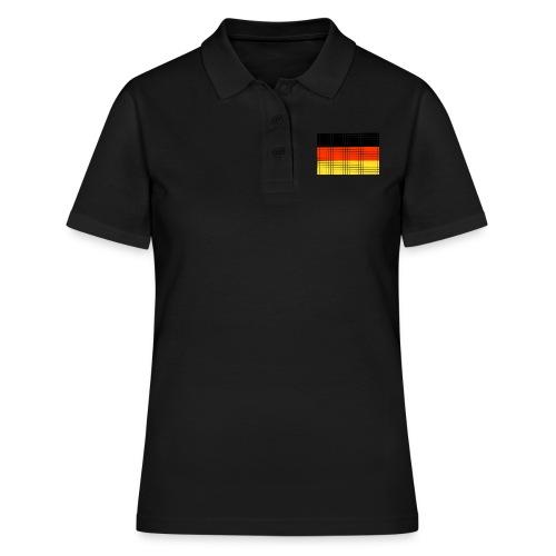 german flag.png - Women's Polo Shirt