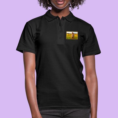 Donna tra gli steli d' erba - Women's Polo Shirt