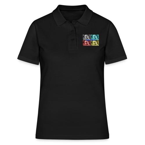 Lion de Belfort quadrichromie + nom - Women's Polo Shirt