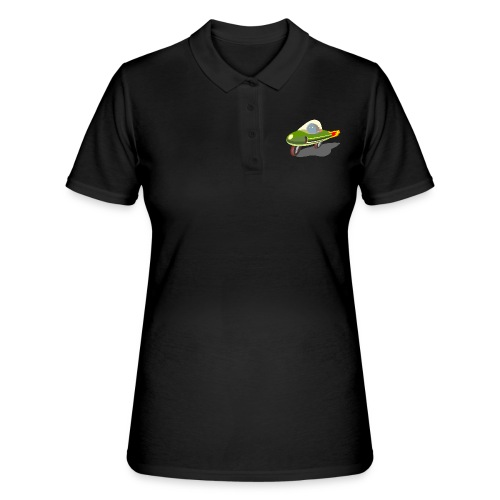 Futuristic Retro Bike - Women's Polo Shirt
