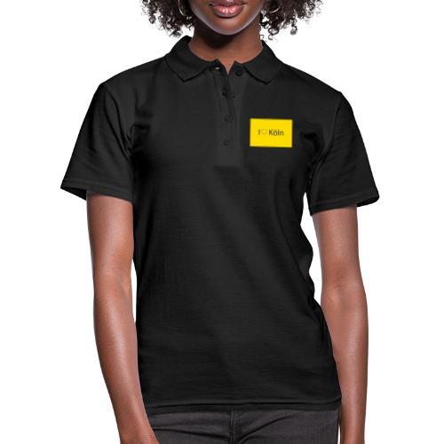 I love Köln - Frauen Polo Shirt