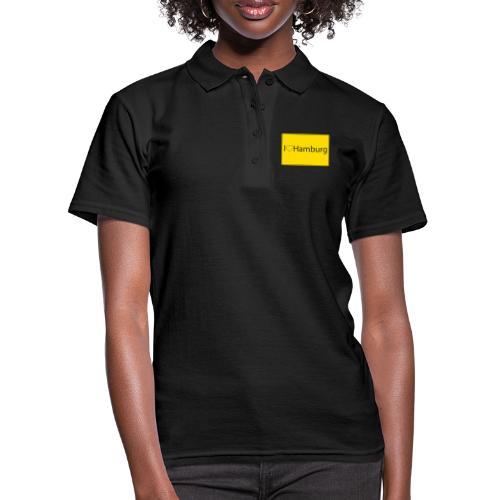 I love hamburg - Frauen Polo Shirt