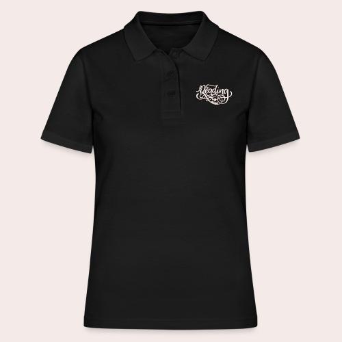 Reading is sexy - Frauen Polo Shirt