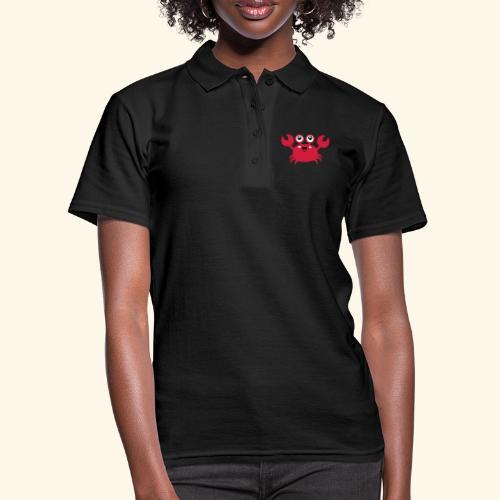 Niedlicher Krebs - Frauen Polo Shirt
