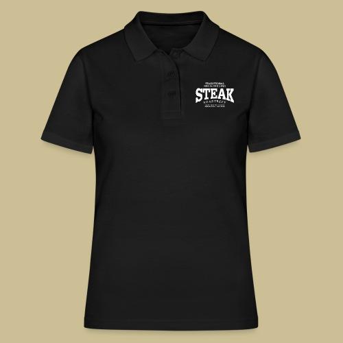 Steak (white) - Frauen Polo Shirt