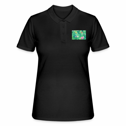 Blumenwiese - Frauen Polo Shirt