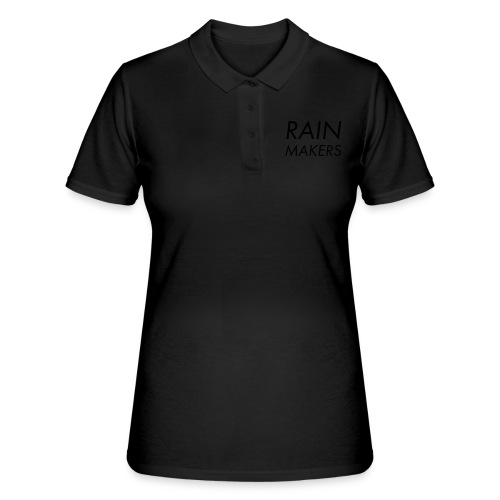 rainmakertext - Women's Polo Shirt