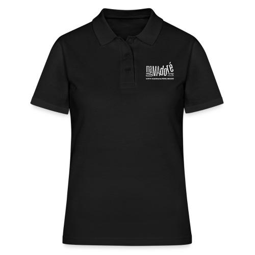 T-Shirt - Donna - Logo Bianco + Sito - Polo donna