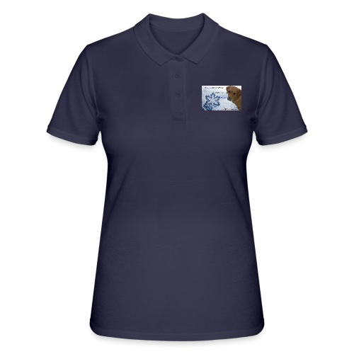 Golden Retriever tra i fiocchi di neve - Women's Polo Shirt