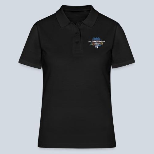 logo planetofmine dark HD - Women's Polo Shirt