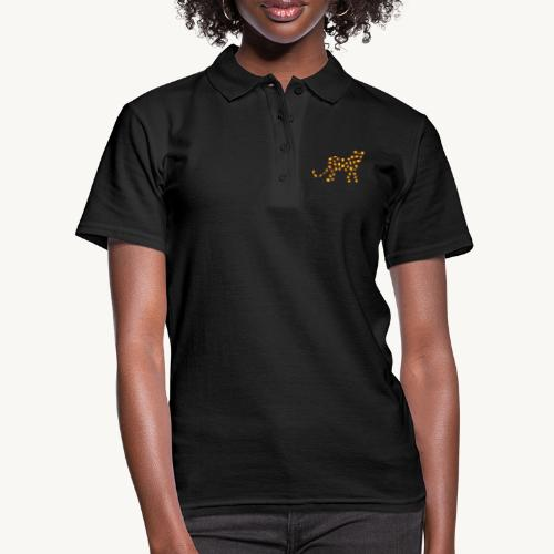 Wildkatze - Fell-Optik - Frauen Polo Shirt