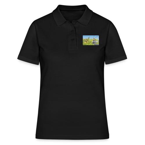Raupe und Zug - Frauen Polo Shirt