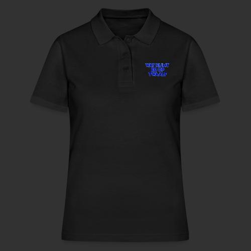 wat rijmt er op twaalf - Women's Polo Shirt