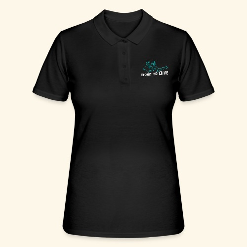 ScubaBornToDive001 - Vrouwen poloshirt