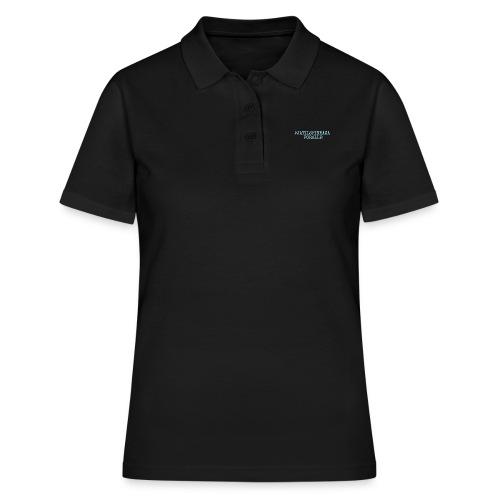 #jatilspinrazaforalle - lysblå - Poloskjorte for kvinner