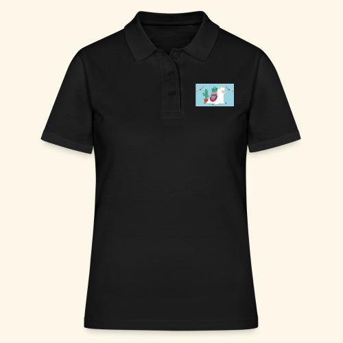 lama / alpaca - Frauen Polo Shirt