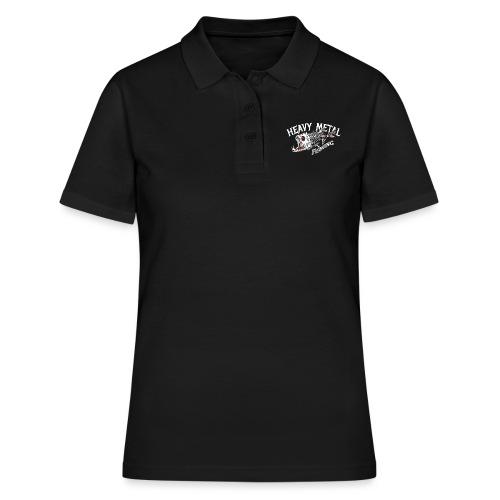 heavy metal fishing Angler T-Shirt - Frauen Polo Shirt
