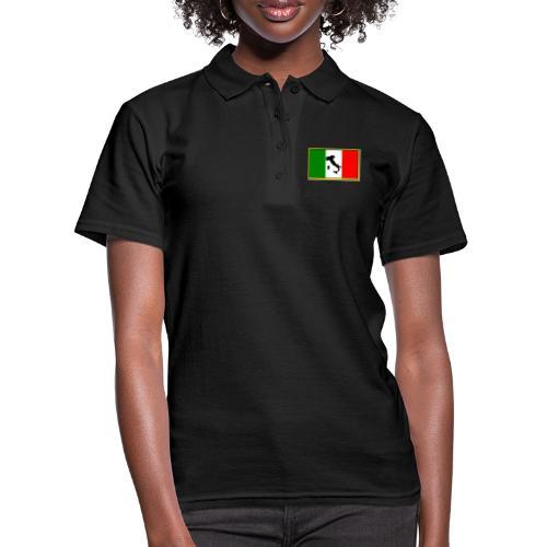 Bandiera Italiana2 - Polo donna