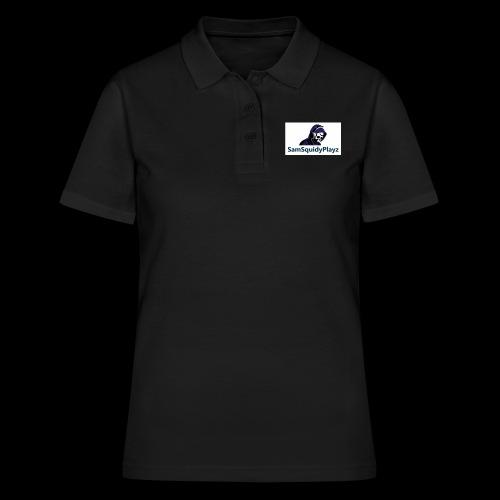 SamSquidyplayz skeleton - Women's Polo Shirt