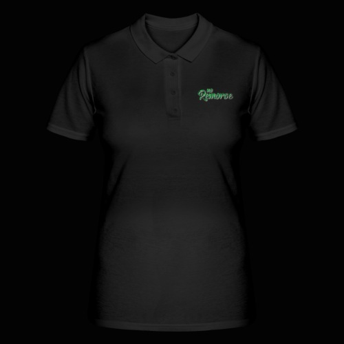 No Remorse Title With Weed No Background - Women's Polo Shirt