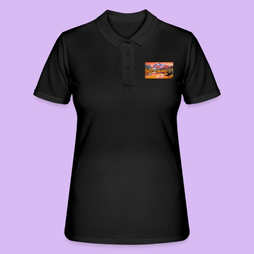 Montagne rosse punteggiate - Women's Polo Shirt