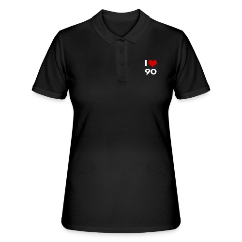 I love 90 - Women's Polo Shirt