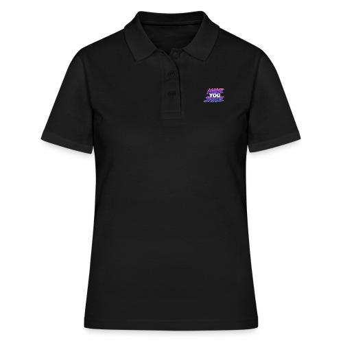 MAKE YOU SMILE - Women's Polo Shirt