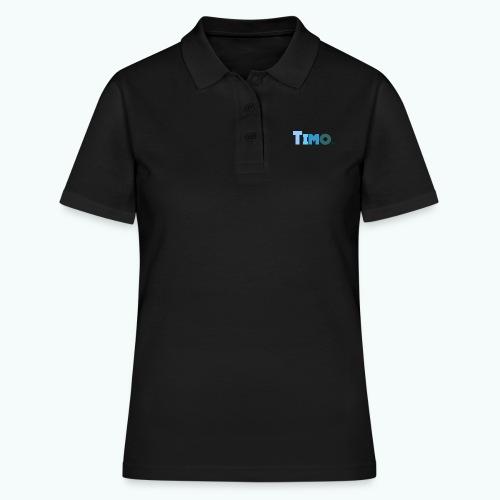 Timo in blauwe tinten - Women's Polo Shirt