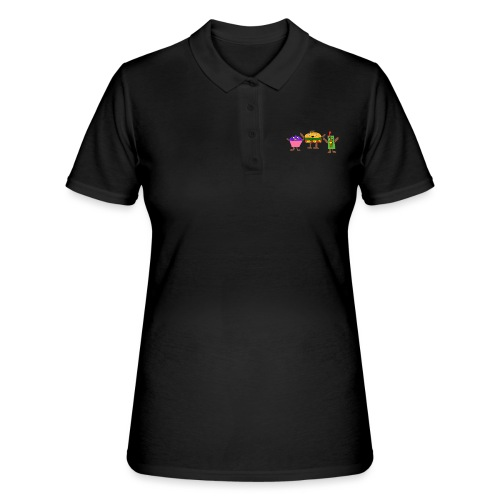 Fast food figures - Women's Polo Shirt