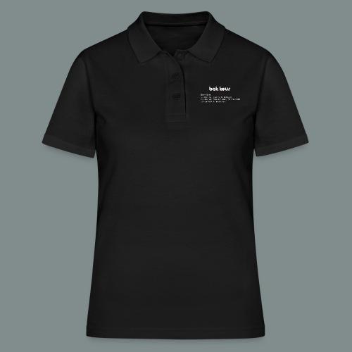 Définition du batteur white - Women's Polo Shirt