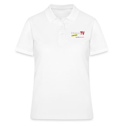 BTV logo shirt dos - Women's Polo Shirt