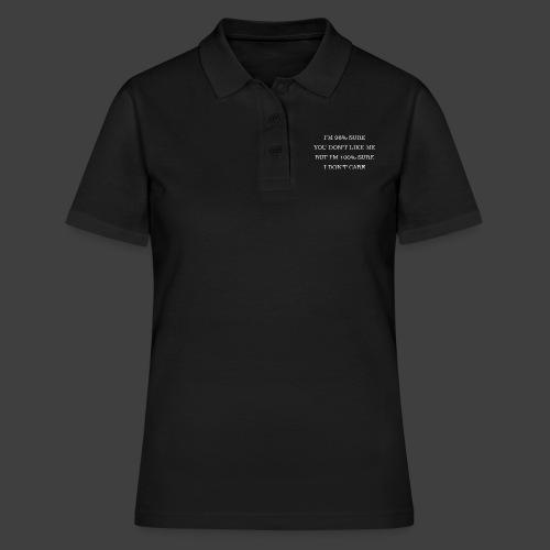 96% - Women's Polo Shirt