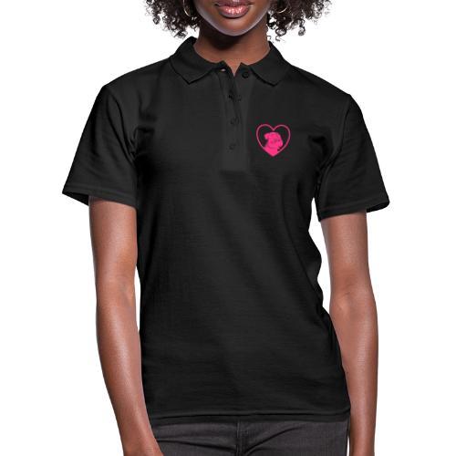 Schnauzerliebe / Riesenschnauzer Hund Geschenk - Frauen Polo Shirt