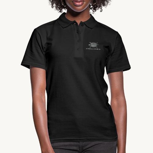 Stein - Schere - Papier Schildkröte - Frauen Polo Shirt
