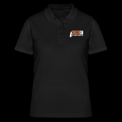 Ginger GM White Logo - Women's Polo Shirt