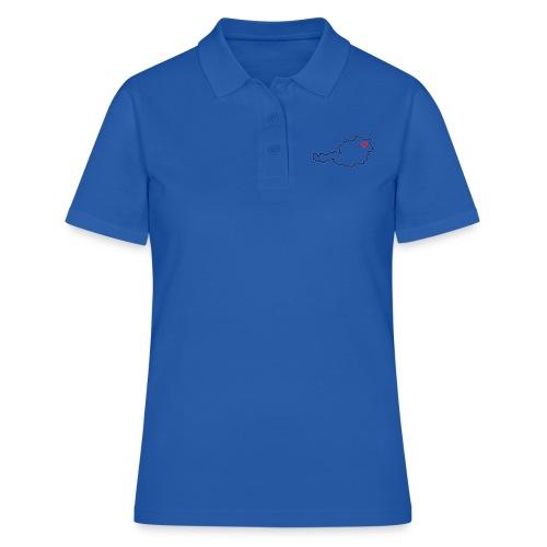 Ein Herz für Österreich - Frauen Polo Shirt