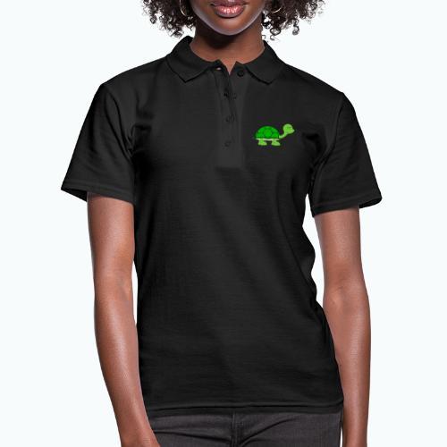 Totte Turtle - Appelsin - Women's Polo Shirt