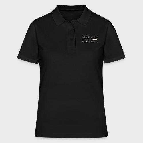 Getting Drunk - Frauen Polo Shirt