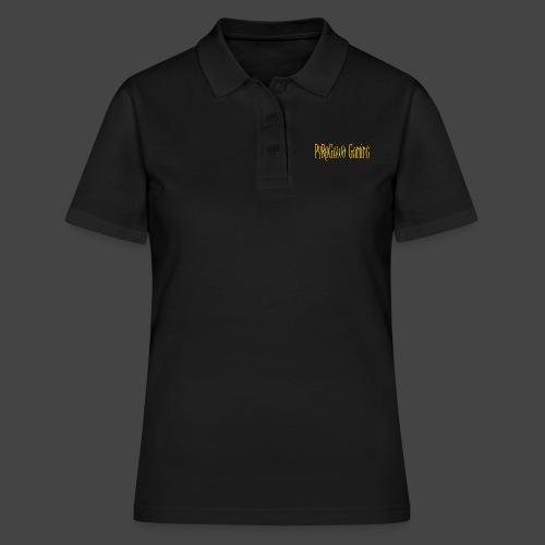 PyroGawd Logo Text - Frauen Polo Shirt