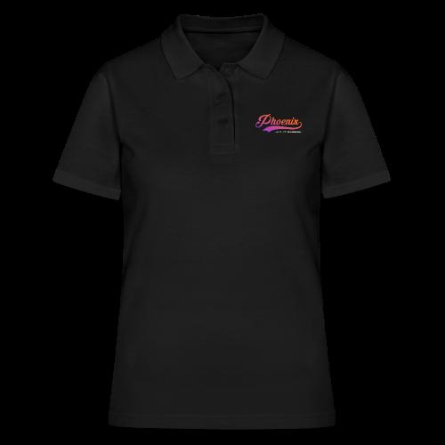 Phoenix Retro Color - Frauen Polo Shirt