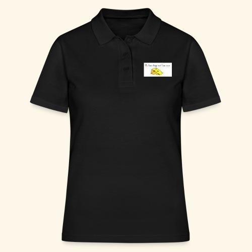 Kaas loopt uit haar oren - Temptation - Women's Polo Shirt