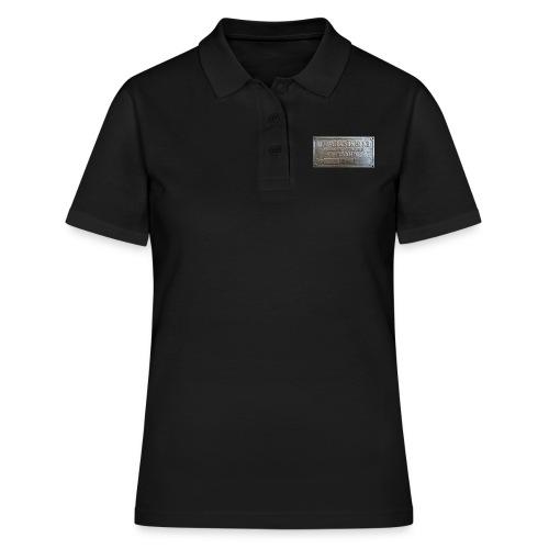 Tillverkningsskylt före 1967 - Women's Polo Shirt